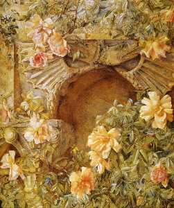 Henry Roderick Newman - Italian Grotto (also know..