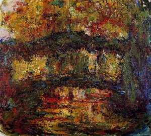 Claude Monet - The Japanese Bridge (9)