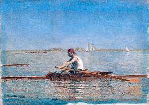Thomas Eakins - John Biglin in a Single S..