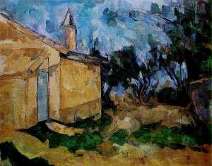 Paul Cezanne - Jourdan-s Cottage
