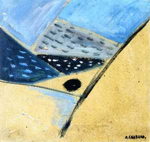 Auguste Chabaud - Landscape (abstract)