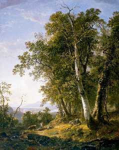 Asher Brown Durand - Landscape, Composition, Forenoon