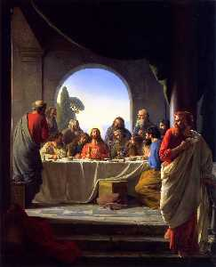 Carl Heinrich Bloch - The Last Supper