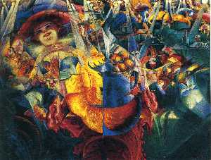 Umberto Boccioni - The Laugh