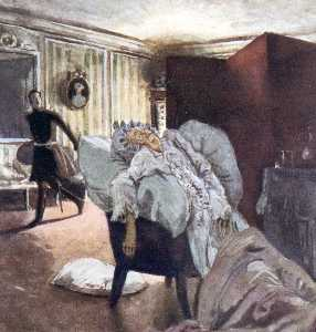 Alexandre Benois - Death of the Countess