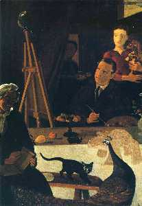 André Derain - The Painter and his Family