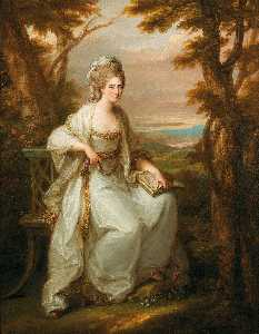 Angelica Kauffman (Maria .. - Portrait of Anne Loudon, ..