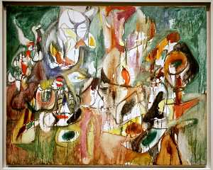 Arshile Gorky - One Year the Milkweed