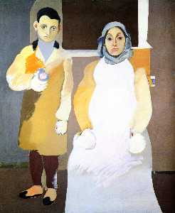 Arshile Gorky - The Artist with His Mothe..