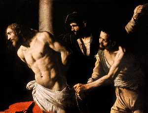 Caravaggio (Michelangelo .. - Flagellation of Christ