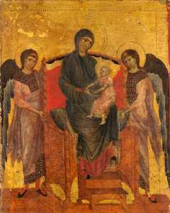 Cimabue - The Virgin and Child Enth..