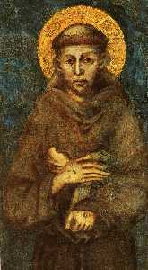 Cimabue - Saint Francis of Assisi (..