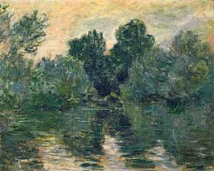 Claude Monet - The Arm of the Seine