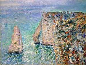 Claude Monet - The Rock Needle and the Porte d-Aval