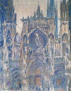 Claude Monet - Rouen Cathedral, Study of the Portal