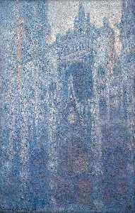 Claude Monet - Rouen Cathedral, Clear Day