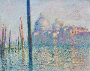 Claude Monet - The Grand Canal in Venice 01