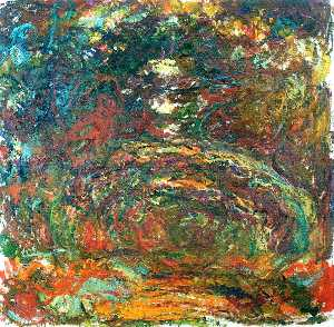 Claude Monet - Path under the Rose Arches, Giverny