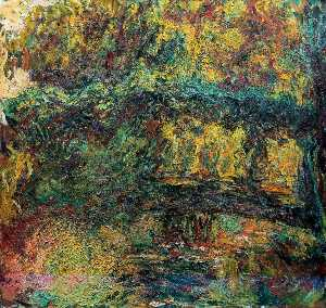 Claude Monet - The Japanese Bridge 5