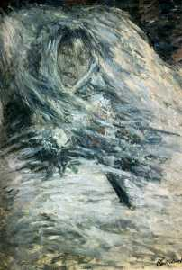 Claude Monet - Camille Monet On Her Deat..