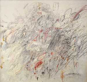 Cy Twombly - Leda and the Swan