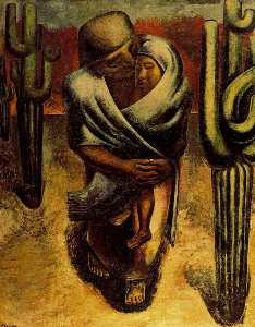 David Alfaro Siqueiros - Peasant Mother