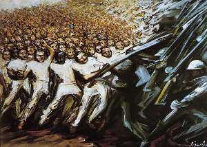 David Alfaro Siqueiros - Struggle for Emancipation
