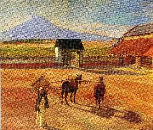 Diego Rivera - La Era (The Threshing Flo..