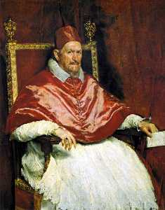 Diego Velazquez - Portrait of Pope Innocent X