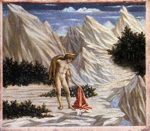 Domenico Veneziano - St. John in the Desert