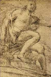 Domenico Veneziano - Study of Apollo