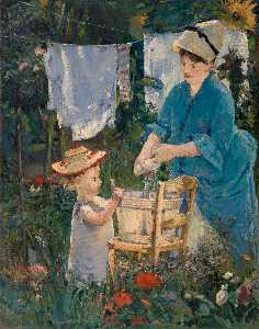 Edouard Manet - The laundry