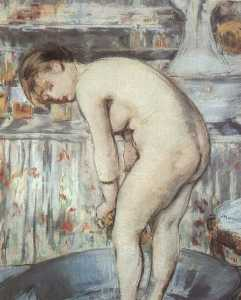 Edouard Manet - Woman in a tub