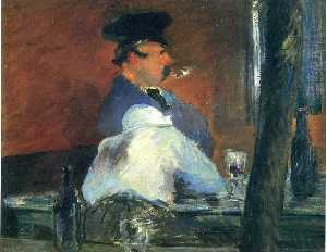 Edouard Manet - In the bar --Le Bouchon--