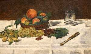 Edouard Manet - Still Life: Fruits on a Table