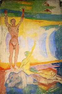Edvard Munch - Awakening Men