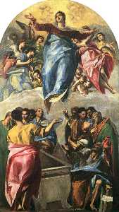 El Greco (Doménikos Theotokopoulos) - Assumption of the Virgin