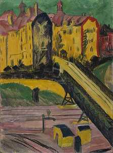Ernst Ludwig Kirchner - View from the Window
