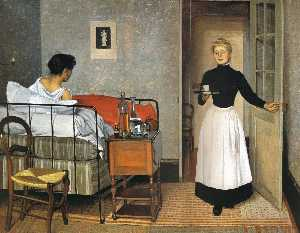 Felix Vallotton - The Patient
