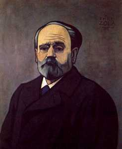 Felix Vallotton - Portrait of Zola