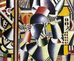 Fernand Leger - Acrobats in the circus