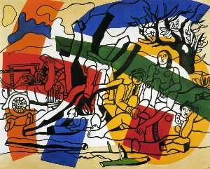 Fernand Leger - The Outing in the country