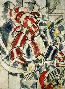 Fernand Leger - The Woman with the armcha..
