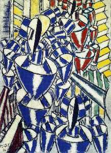 Fernand Leger - The Exit of the Russian Ballet
