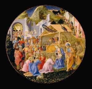 Fra Angelico - Adoration of the Magi