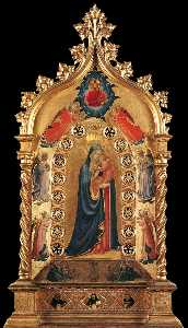 Fra Angelico - Madonna of the Star
