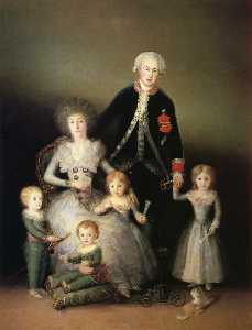 Francisco De Goya - The Duke of Osuna and his Family