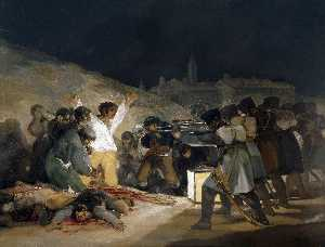 Francisco De Goya - The Third of May 1808 (Ex..