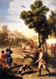 Francisco De Goya - The Quail Shoot
