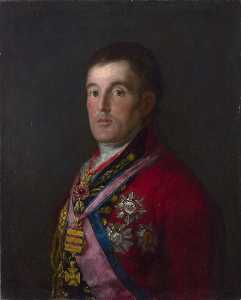 Francisco De Goya - The Duke of Wellington